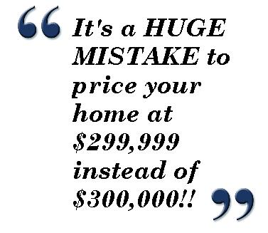 How to Avoid a Huge Home Pricing Mistake, Home Seller Tips from Cary Real Estate