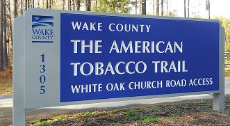 American Tobacco Trail – Cary – White Oak Park Access