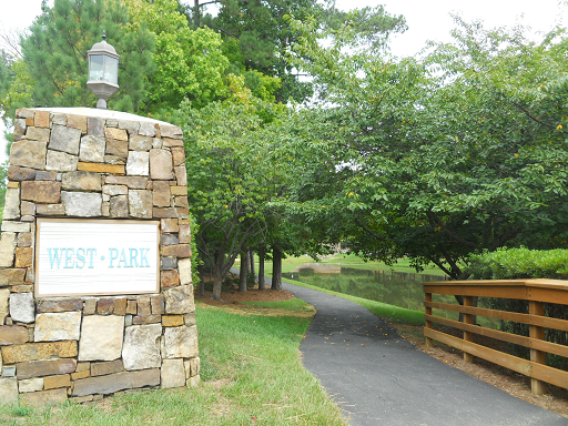 Westpark Cary Homes For Sale subdivision entrance
