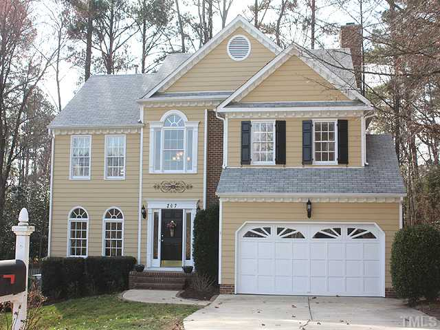 207 Merry Hill Drive Home For Sale Cary NC 27518 Glenridge