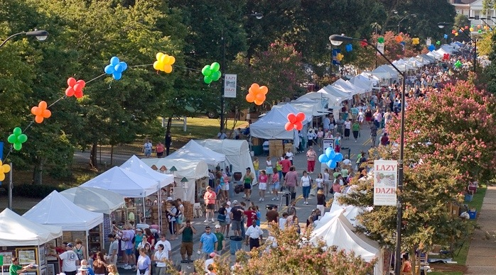 Cary Lazy Daze Arts & Crafts Festival 2012 in Downtown Cary
