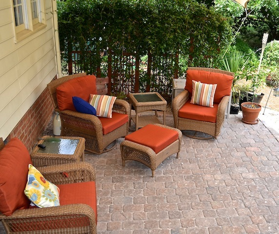 100 Delafied Cary patio