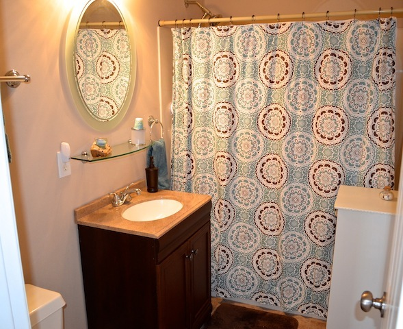 100 Delafield Cary Home guest bath
