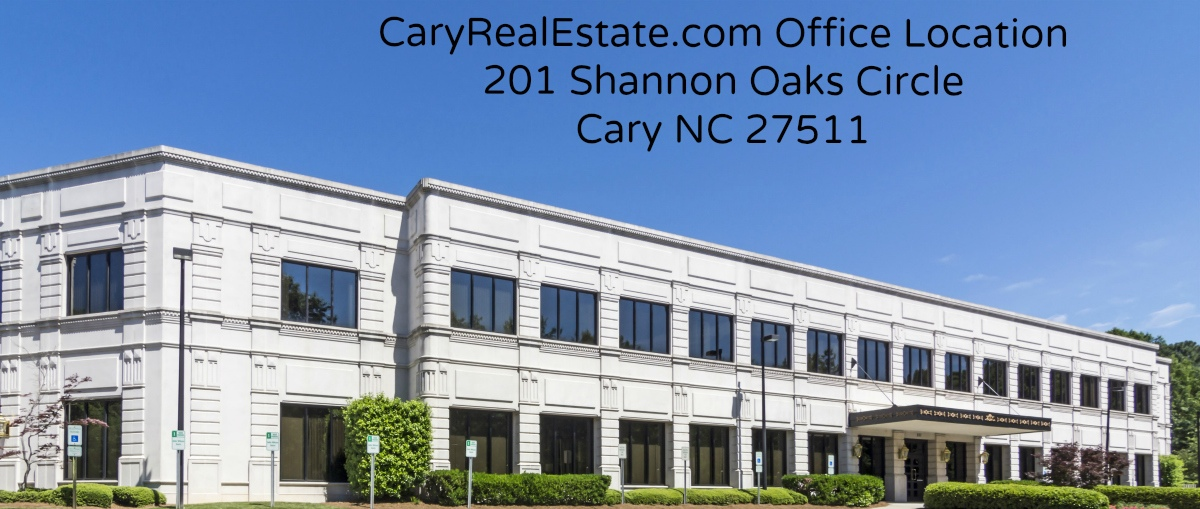 Cary Real Estate Office Front