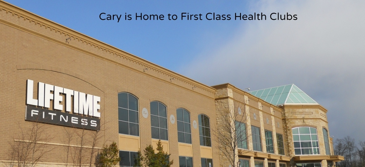 cary lifetime fitness
