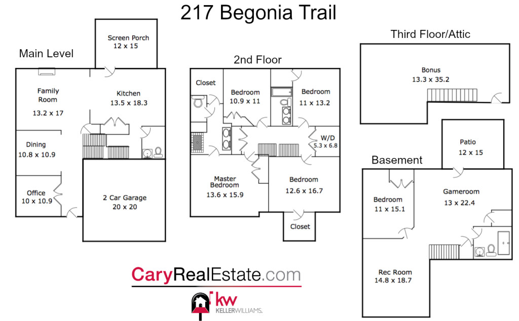217 Begonia Trail Floorpan